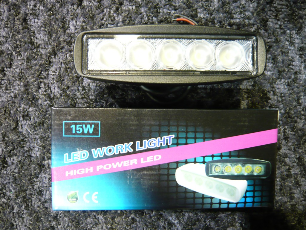 LEDバックライト 広角(黒)