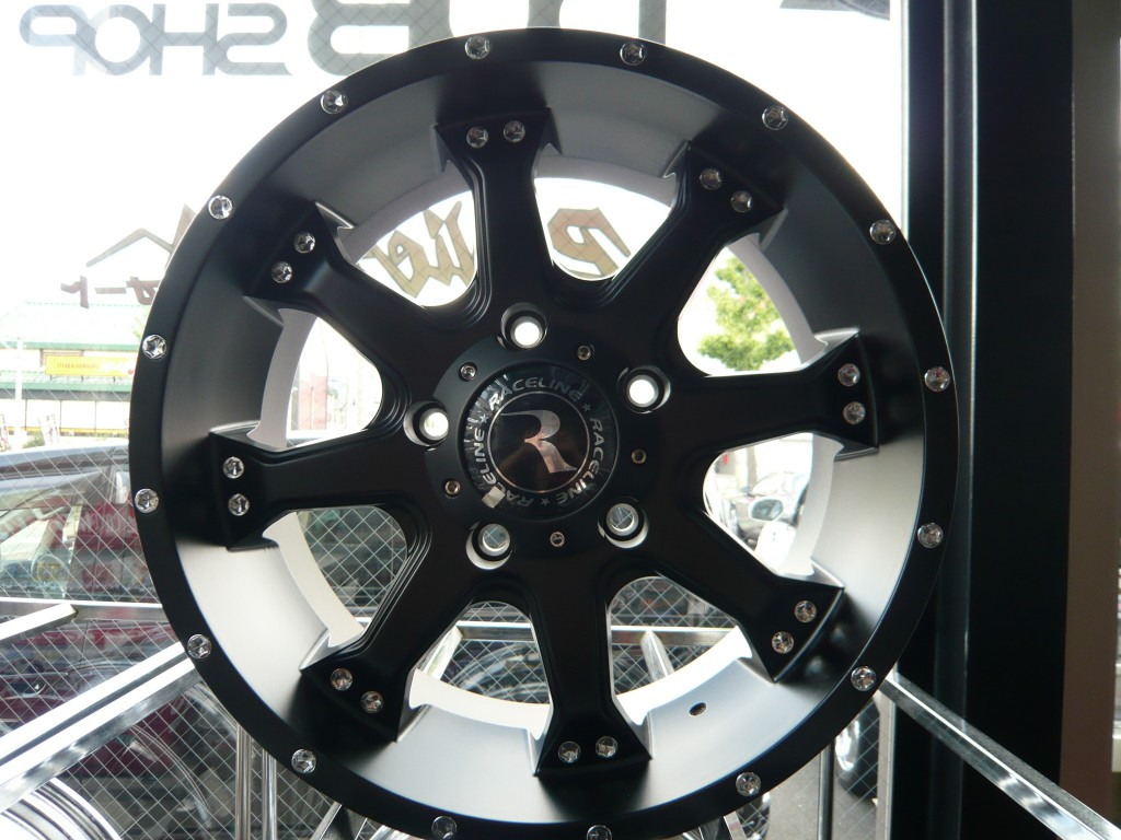 Black Raceline Wheel