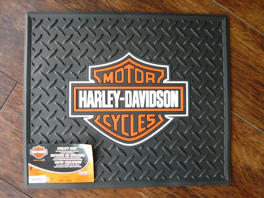 HARLEY DAVIDSON ラバー製フロアマット