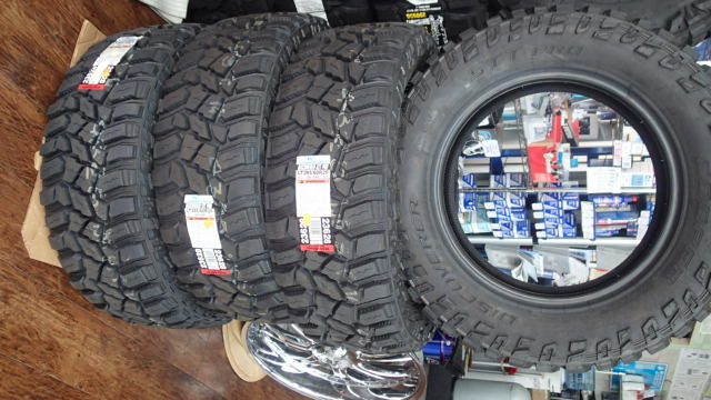 COOPERTIRES DISCOVERER STT PRO タイヤ 4本セット