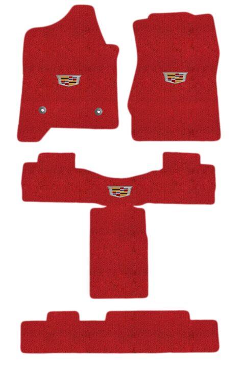ロイドマット(RED) 3列フルセット 2015-エスカレードESV