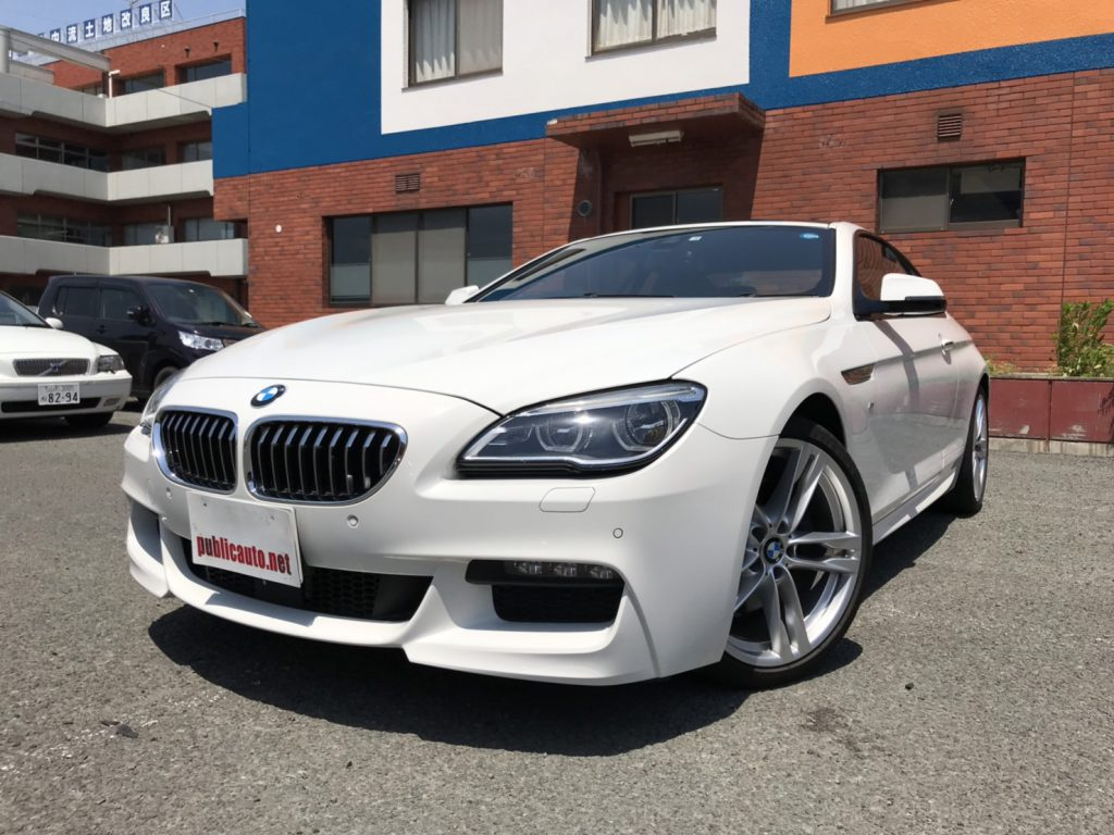 BMW 640i  M sports coupe